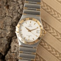 Omega Constellation Ladies Zlato/Zeljezo 33.5mm Srebro