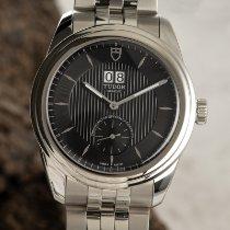 Tudor Glamour Double Date Acero 42mm Negro