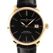 Ulysse Nardin new Automatic Quick Set 40mm Red gold Sapphire crystal
