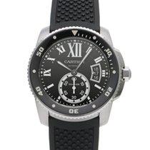 Cartier Calibre de Cartier Diver W7100056 Gut Stahl 42mm Automatik