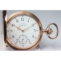 Glashütte Original Uhr gebraucht 1917 Rotgold 52mm Arabisch Nur Uhr