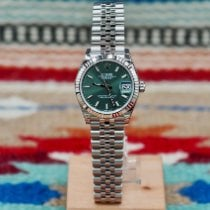 Rolex Lady-Datejust Сталь 31mm Зеленый