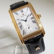 Maurice Lacroix Rotgold Silber 35mm gebraucht Masterpiece