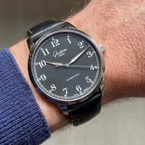 Glashütte Original Senator Excellence pre-owned 40mm Black Calf skin
