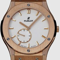 Hublot Classic Fusion Ultra-Thin Oro rosa 45mm Transparente Sin cifras