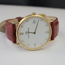 Carl F. Bucherer Adamavi Желтое золото 34mm Белый
