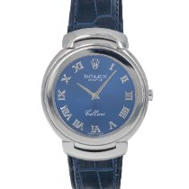 Rolex Cellini White gold 37mm Blue Roman numerals United States of America, Maryland, Baltimore, MD
