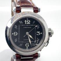 Cartier Pasha C Stahl 35,50mm Weiß Arabisch Deutschland, Koblenz