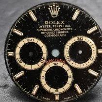 Rolex Daytona Желтое золото 40mm Черный Без цифр