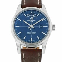 Breitling Transocean Day & Date Steel 43mm Blue United States of America, Florida, Sarasota