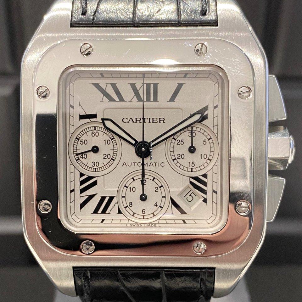 Cartier Santos 100 2740 2007 gebraucht