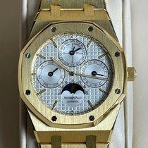 Audemars Piguet Royal Oak Perpetual Calendar Желтое золото 39mm Cеребро