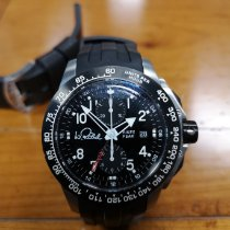 Hacher Steel 44mm Automatic 10:47:85 pre-owned