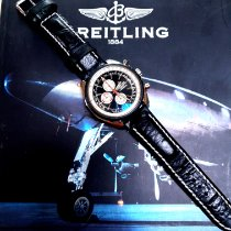 Breitling Chrono-Matic 1461 Steel 49mm Black No numerals