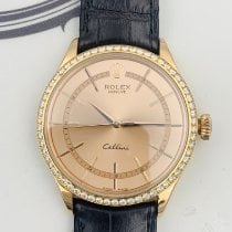 Rolex Cellini Time Rose gold 39mm Pink