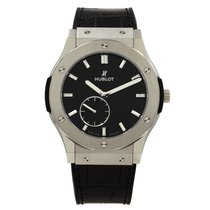 Hublot Classic Fusion Ultra-Thin Titanium 45mm Black United States of America, New York, NYC