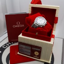 Omega Speedmaster Reduced Steel 39mm Mother of pearl Arabic numerals United States of America, New York, NYC