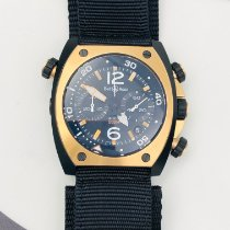 Bell & Ross BR 02 new Automatic Chronograph Watch with original box