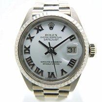 Rolex Lady-Datejust Oro blanco 26mm Blanco Romanos España, Huesca
