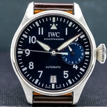 IWC Big Pilot Steel Blue Arabic numerals United States of America, Massachusetts, Boston