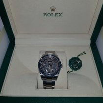 Rolex Oyster Perpetual 39 Steel 39mm Mother of pearl No numerals
