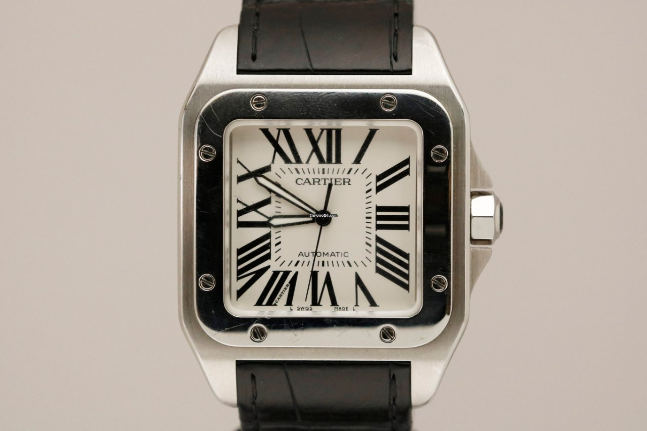 Cartier Santos 100 W20073X8 новые