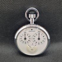 Junghans Uhr gebraucht 1970 Stahl 56mm Handaufzug Uhr mit Original-Box