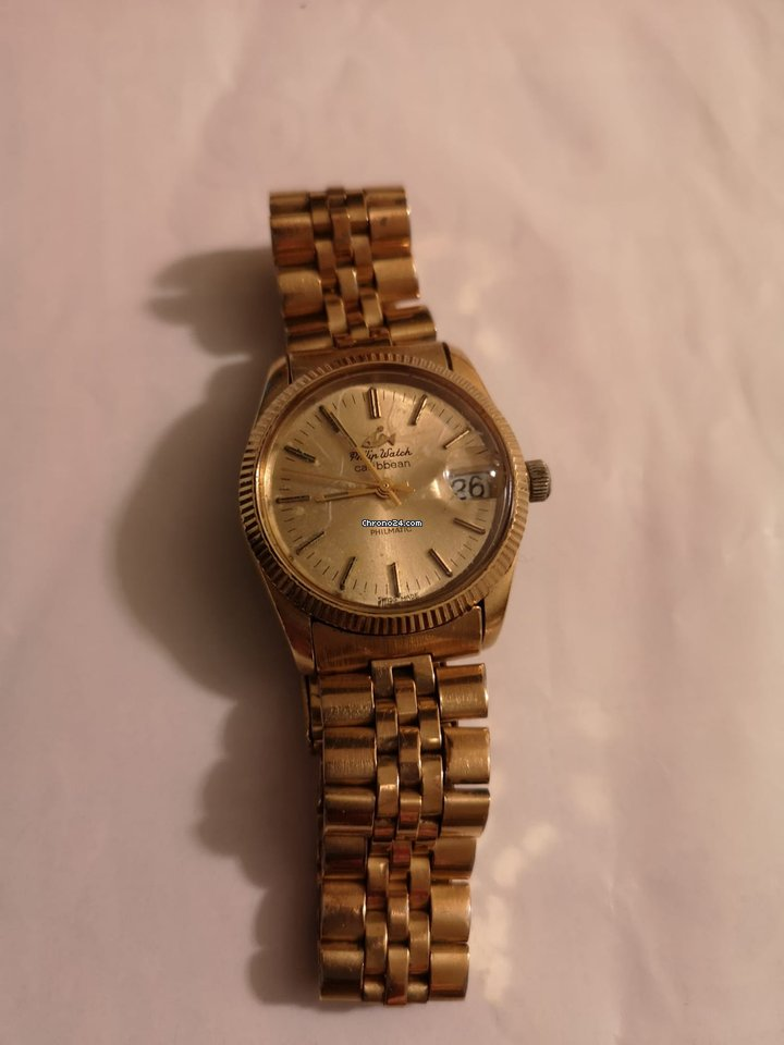 Philip Watch Caribe R8223597006 1990 pre-owned