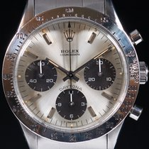 Rolex Daytona occasion 37mm Noir Chronographe Acier