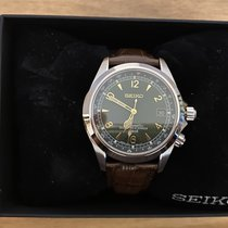 Seiko Spirit Steel 38mm Green Arabic numerals United Kingdom, London