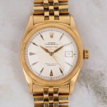 Rolex Bubble Back Yellow gold 36mm White No numerals United States of America, Florida, Sunny Isles Beach