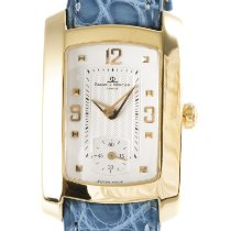 Baume & Mercier Hampton Yellow gold 28mm Silver