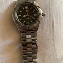TAG Heuer 2000 Steel Black No numerals United States of America, California, Monrovia