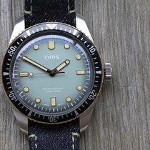 Oris Divers Sixty Five 01 733 7707 4337-Set Very good Steel 40mm Automatic Australia