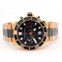 Ulysse Nardin Maxi Marine Diver Rose gold 42.7mm Black United States of America, Florida, Aventura