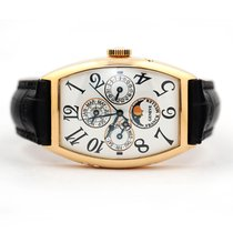 Franck Muller Yellow gold Automatic White Arabic numerals 32mm pre-owned