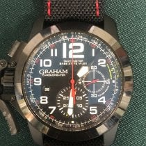 Graham Chronofighter Oversize 2CCBK.B07A New Steel 47mm Automatic