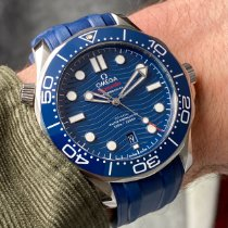Omega Seamaster Diver 300 M Steel 42mm Blue No numerals United States of America, Wisconsin, La Crosse