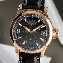 Jaeger-LeCoultre Master Compressor GMT Yellow gold 41.5mm Black