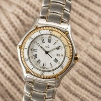 Ebel Discovery Gold/Steel 38mm White