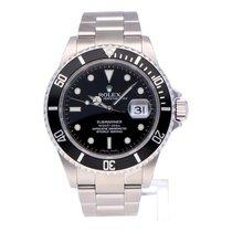 Rolex Submariner Date Steel 40mm Black