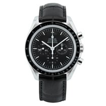 Omega Speedmaster Professional Moonwatch Acero 42mm Negro Sin cifras México, Corregidora