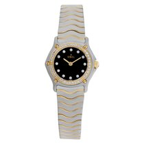 Ebel Classic Steel 23mm Black No numerals United States of America, Florida, Surfside