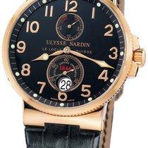 Ulysse Nardin Marine Chronometer 41mm Pозовое золото Черный Россия, Moscow