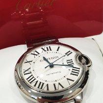 Cartier Ballon Bleu 36mm gebraucht 36mm Silber Doppelfaltschließe