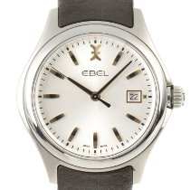 Ebel Wave Steel 40mm Silver
