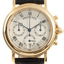 Breguet Or jaune 35mm Remontage automatique Marine occasion