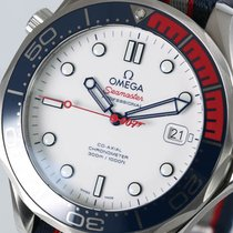 Omega Seamaster Diver 300 M Steel 41mm White No numerals
