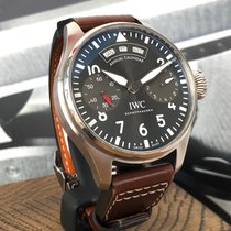 IWC Big Pilot Steel 46,2mm Grey Arabic numerals