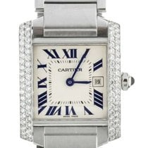 Cartier Tank Française 2465 Very good Steel 30mm Automatic United States of America, Illinois, BUFFALO GROVE